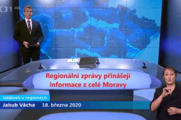 ČT regionální vysílání Morava