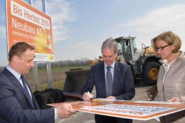 Dokončení rakouské části dálnice z Brna na Vídeň Dálnice D52