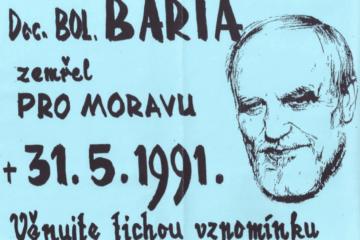 Boleslav Bárta pietní akt